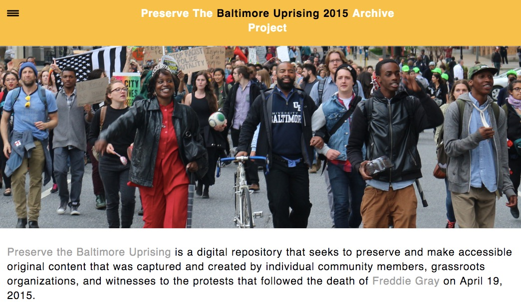 Image result for the baltimore uprising archive