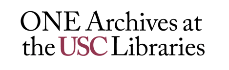 USC Libraries Digitizing ONE National Gay and Lesbian Archives at USC | LJ  INFOdocket