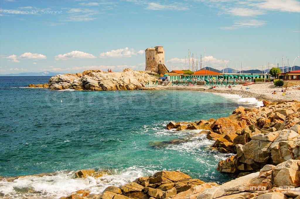 Spiaggia della Fenicia allIsola dElba a Marciana Marina
