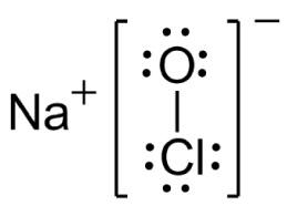 lewis dot diagram for na marathon 2 hp motor wiring hipoclorito de sódio - Água sanitária naclo química infoescola