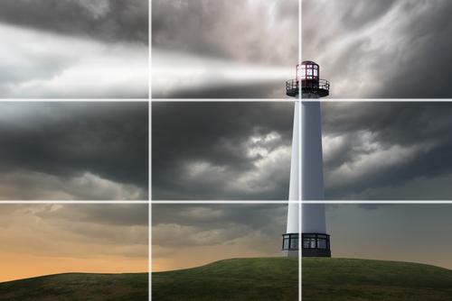 Resultado de imagem para regra dos terços da fotografia