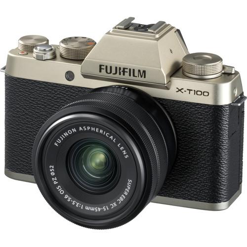 Duel mirrorless basic : Canon EOS M50 vs Fuji X-T100