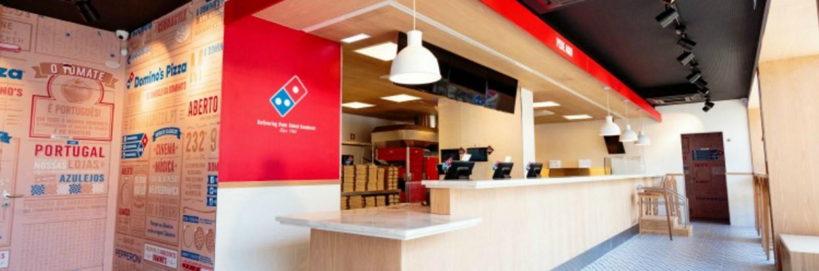 Domino's Pizza soma oito unidades em Portugal