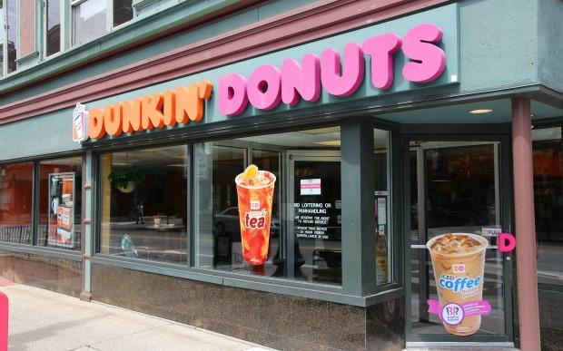 Dunkin Donuts loja EUA