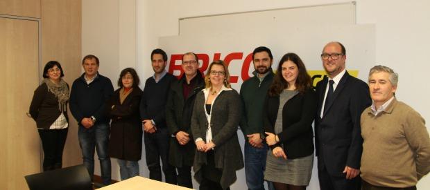 Imo24h celebra parceria com o Bricomarché