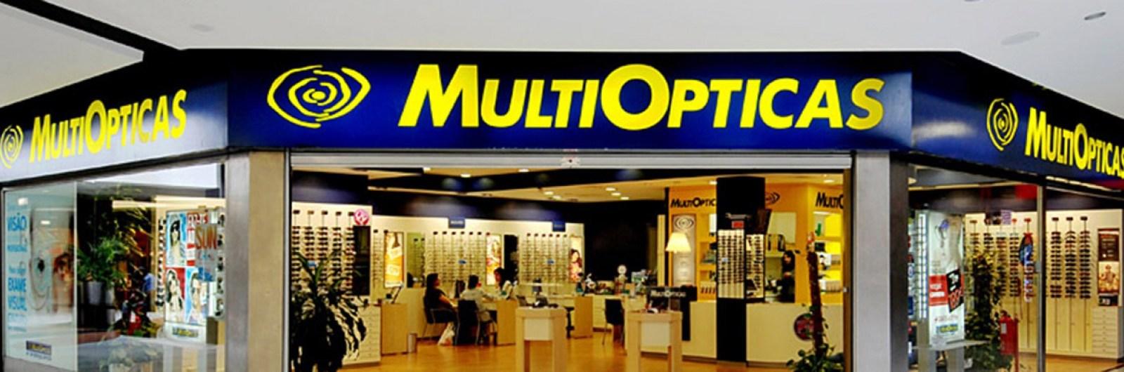 Nova imagem na MultiOpticas do Centro Comercial Colombo