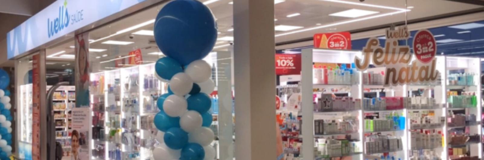 well's abre seis lojas em dezembro