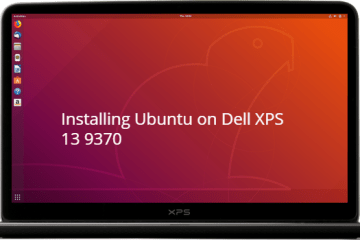 install Ubuntu on Dell XPS 13 9370