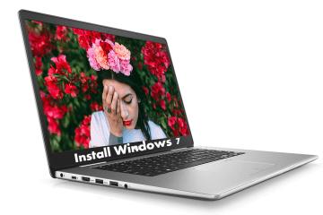 Install Windows 7 on Dell Inspiron 15 7000