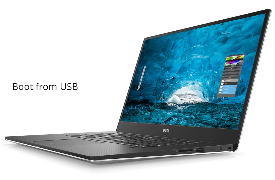 Dell XPS 15 9570 Boot From USB for Linux and Windows OS - infofuge