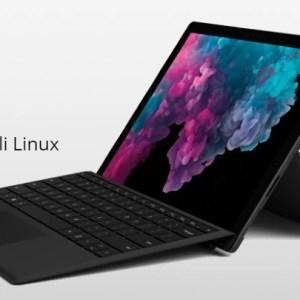 Install Kali Linux on Surface Pro 6