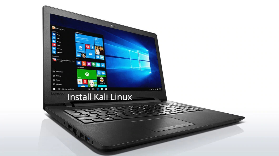 How to install Kali Linux on Lenovo Ideapad 110+Dual Boot