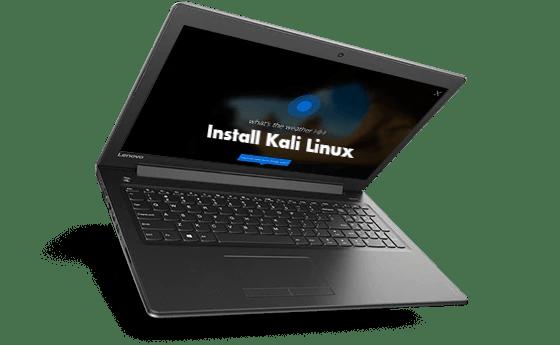 Install Kali Linux on Lenovo Ideapad 310