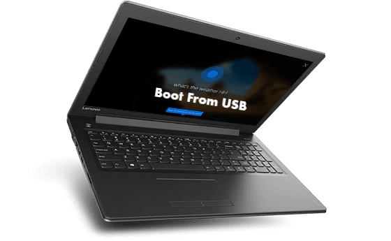 Lenovo Ideapad 310 Boot from USB for Linux and Windows