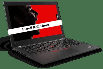 Lenovo ThinkPad X280 kali linux