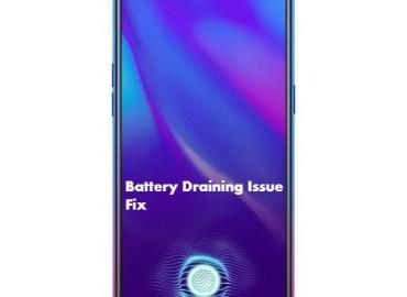 Oppo K1 Battery Draining issue fix