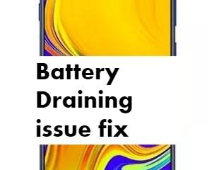 Samsung Galaxy M20 Battery Draining issue fix