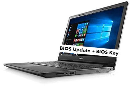 Dell Inspiron 3567 BIOS Update + BIOS Key to enter into BIO