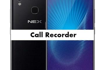 Vivo NEX Call Recorder