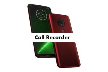 Motorola Moto G7 Plus Call Recorder