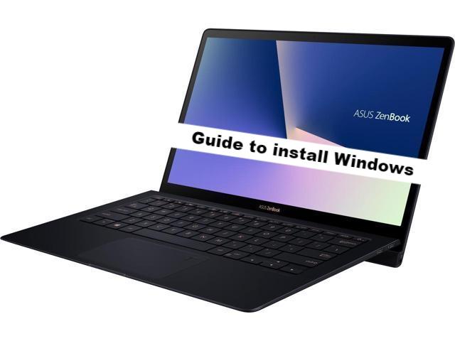 ASUS ZenBook S windows 7