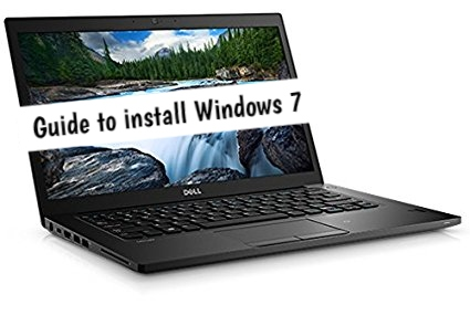 How to install Windows 7 on Dell Latitude 7480