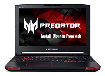 Acer Predator 15 ubuntu