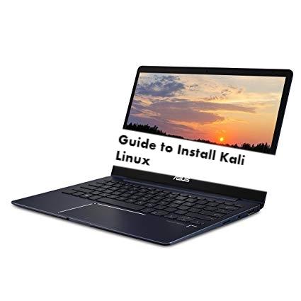 How to install Kali Linux on Asus ZenBook 13 UX331UN - infofuge