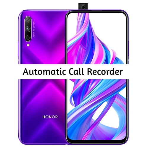 Honor 9X Call Recorder