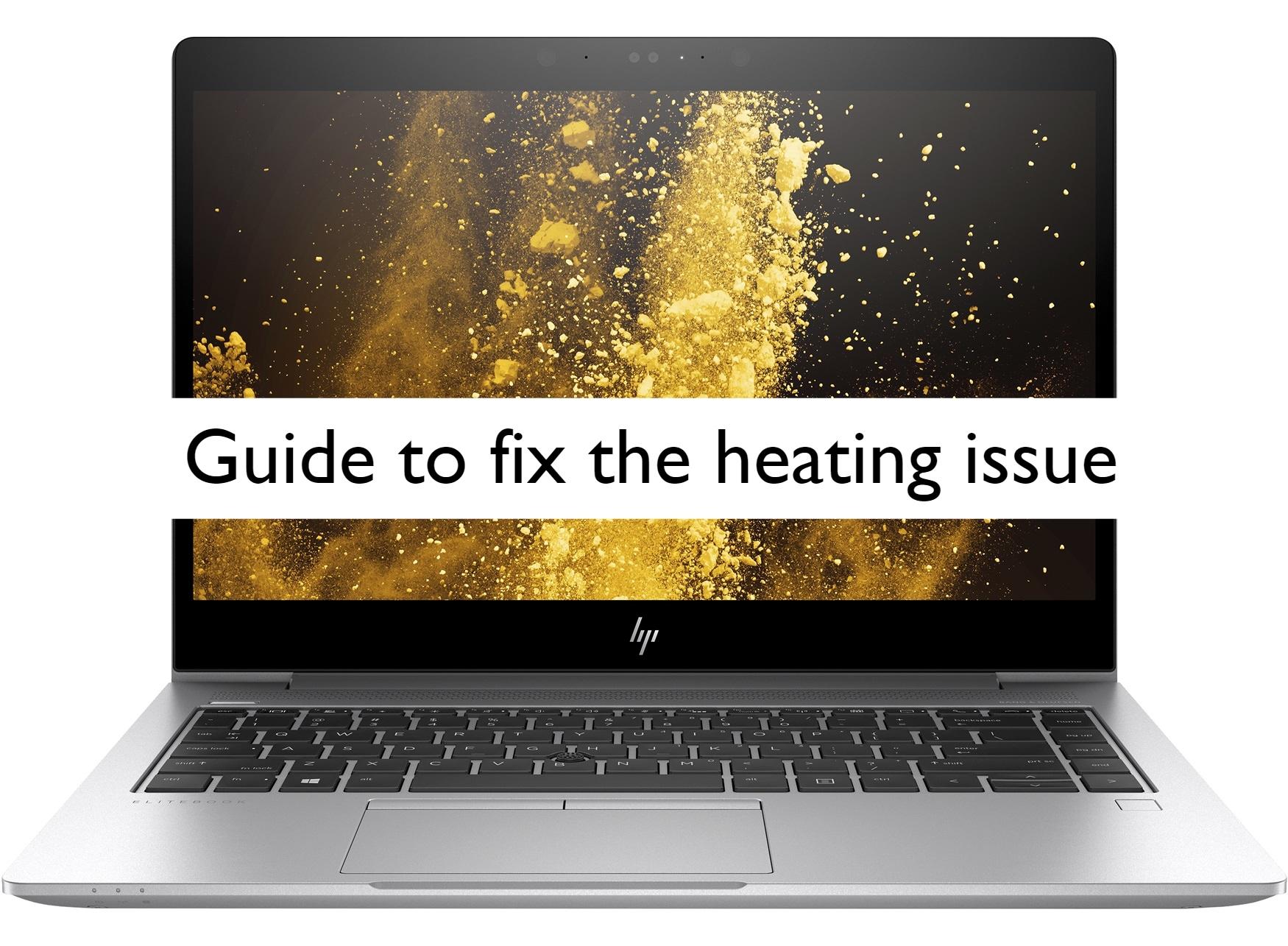 HP Elitebook 840 overheating