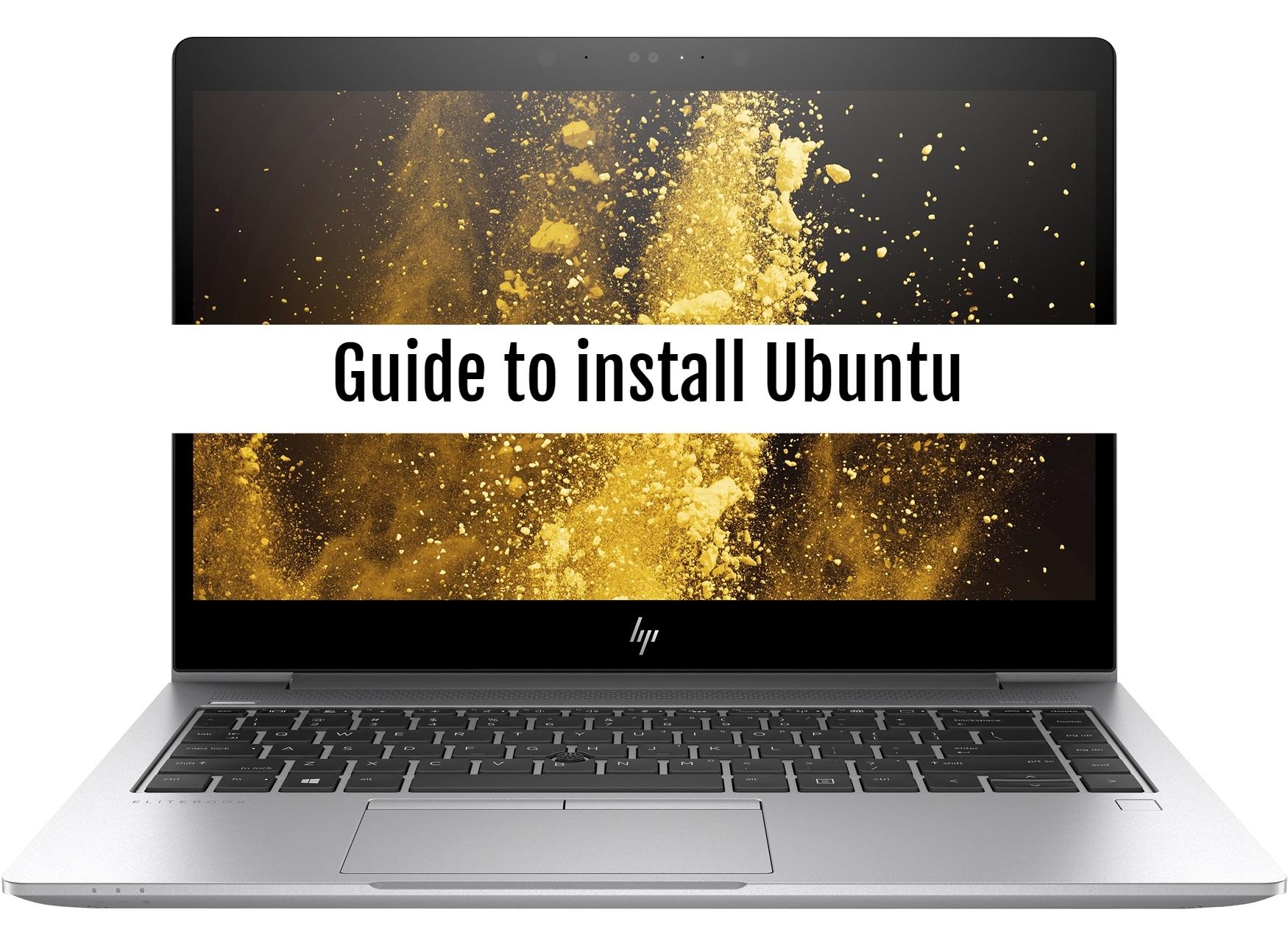 HP EliteBook 840 Ubuntu