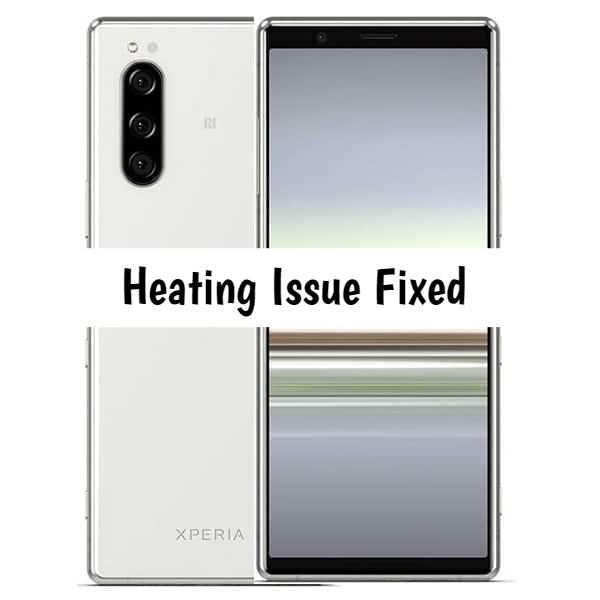 Sony Xperia 5 heating