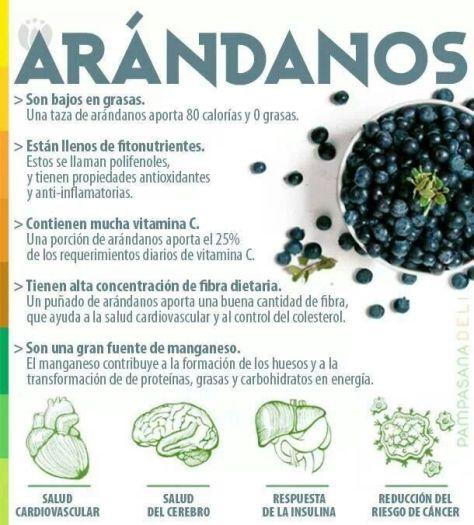 beneficios de los arandanos
