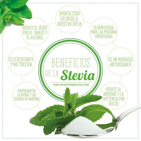 para que sirve la stevia