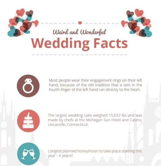 Interesting Facts About Wedding Infographic