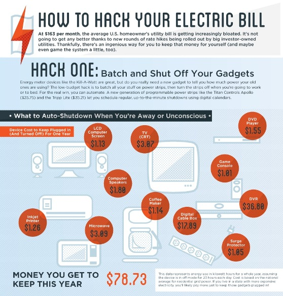 Top 5 Electricity Infographics