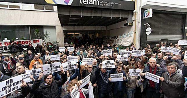 La justicia cerró la causa por usurpación contra los trabajadores de Telam