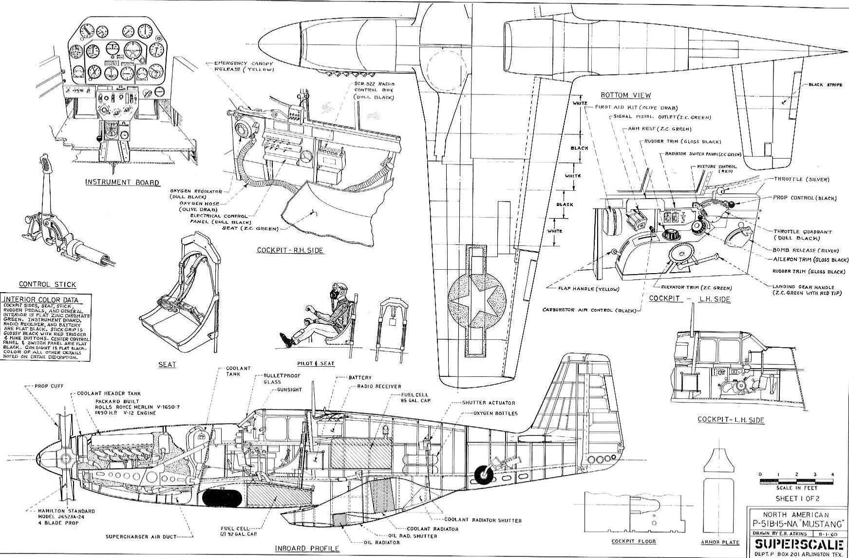 Acs P 51 Mustang
