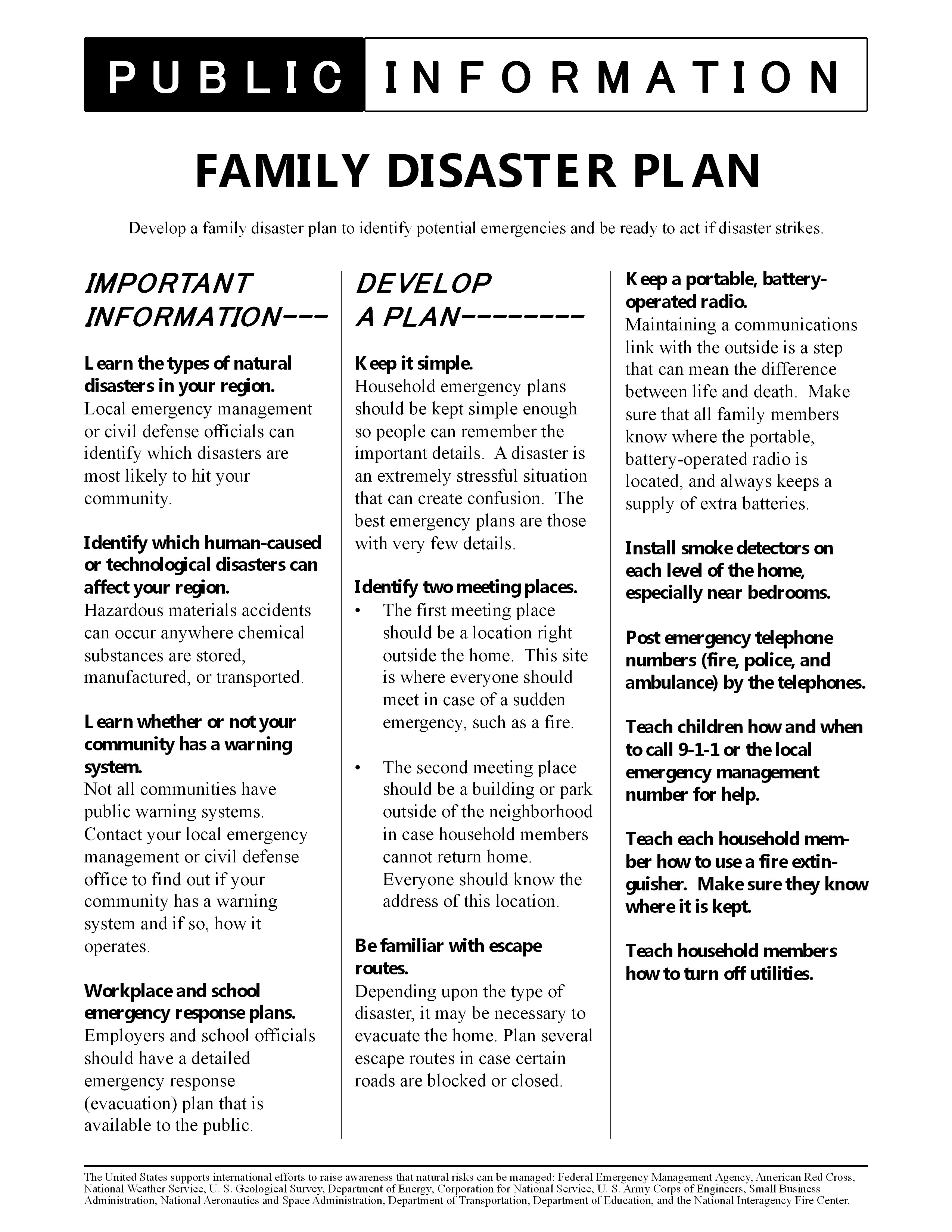 Ps Family Disaster Plan 6