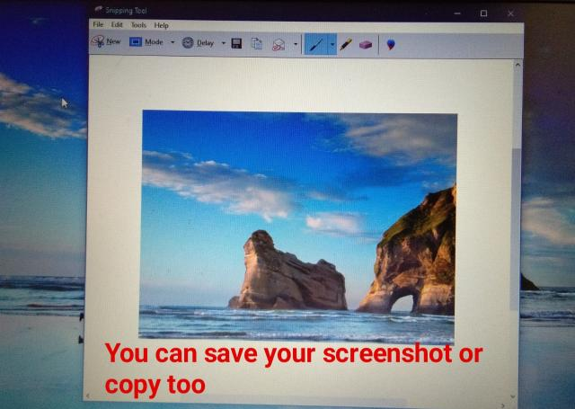 how to take a screenshot in laptop