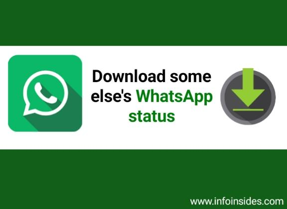 How to download WhatsApp status