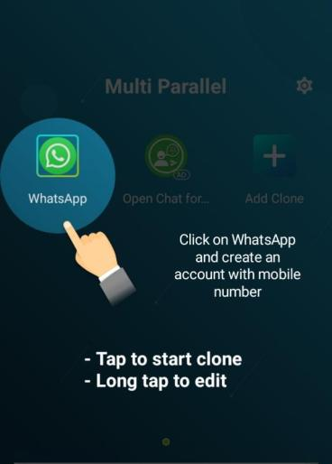 how to use 2 WhatsApp in a single phone