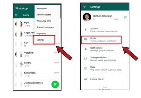 How to dark mode on WhatsApp