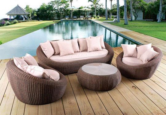 les bois le grand classique en matiere de mobilier de jardin