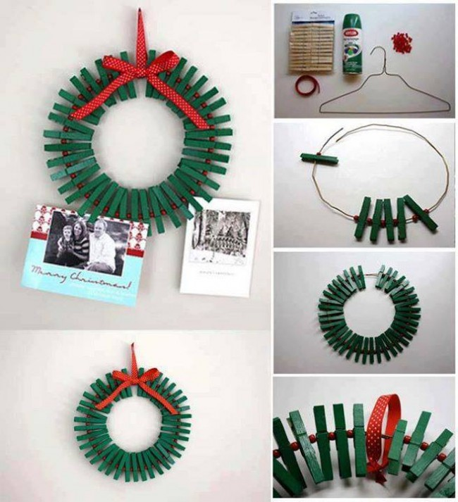 CHRISTMAS WREATH CLIPS