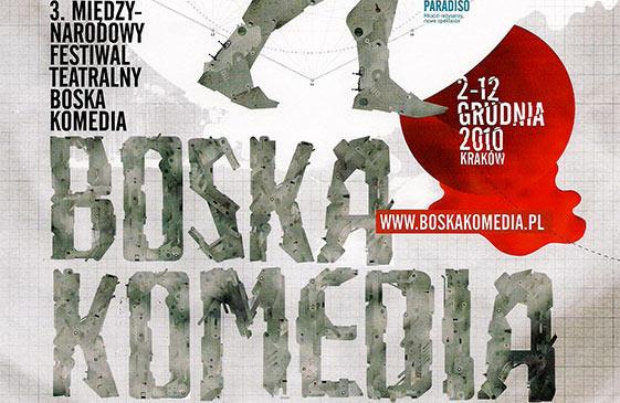 2 grudnia startuje 3. Międzynarodowy Festiwal Teatralny Boska Komedia