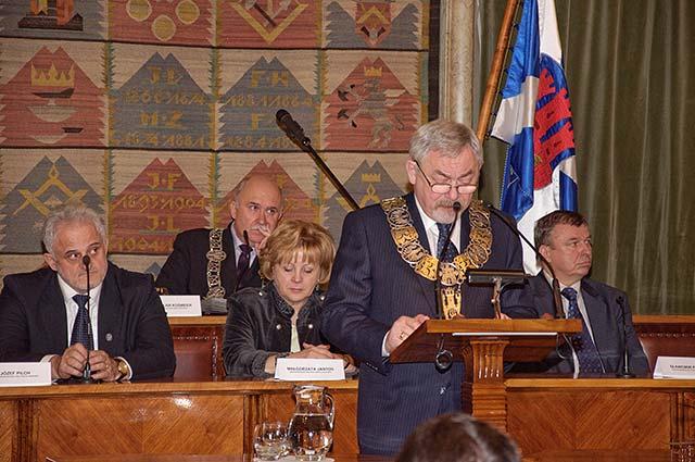 Prezydent Jacek Majchrowski złożył ślubowanie