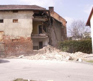 Wieliczka - Zawaliła się kamienica z początku XX wieku, nikt nie został poszkodowany
