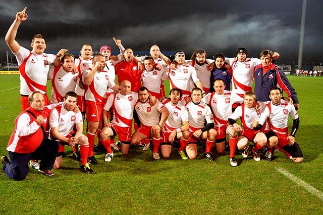 Rugby: Polacy nie dali szans Holendrom ( 32:18 ) - Fotorelacja + Video
