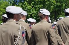 26 maja w krakowskim Dowództwie Wojsk Specjalnych odbył się uroczysty apel z okazji Święta Wojsk Specjalnych. Fot.Jakub Gruca/InfoKraków24